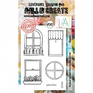 AALL and Create Stamp Set #342 - Windows