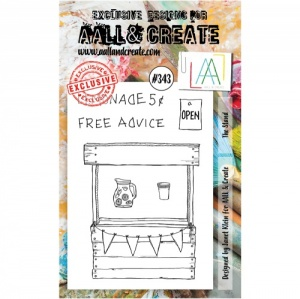 AALL and Create Stamp Set #343 - The Stand