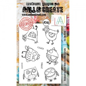 AALL and Create Stamp Set #346 - For the Birds