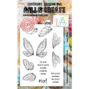 AALL and Create Stamp Set #348 - Insect Wings