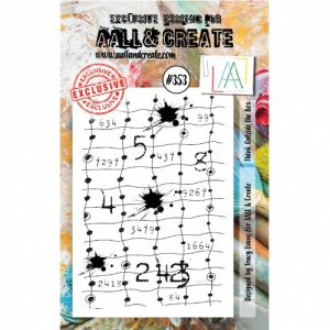 AALL and Create A7 Stamp Set #353 - Think Outside the Box