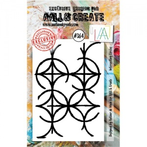 AALL and Create A7 Stamp Set #364 - Intersecting Circles