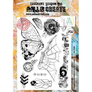 AALL & Create A4 Stamp Set #367 - Take Flight