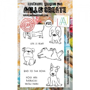 AALL and Create Stamp Set #373 - Rescue Puppies