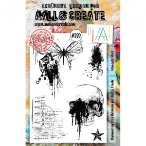 AALL and Create A5 Stamp Set #392 - Momento Mori