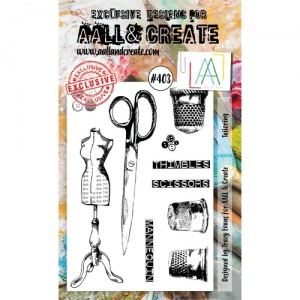 AALL & Create A6 Stamp Set #403 - Tailoring