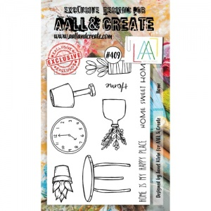 AALL and Create Stamp Set #409 - Home