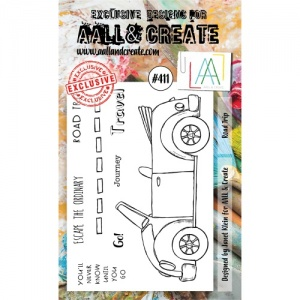 AALL and Create Stamp Set #411 - Road Trip
