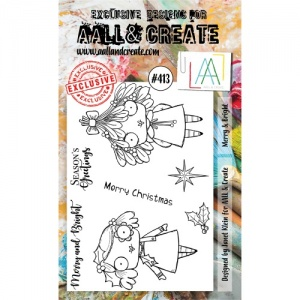 AALL and Create Stamp Set #413 - Merry and Bright
