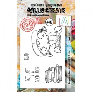 AALL and Create Stamp Set #415 - Good Book