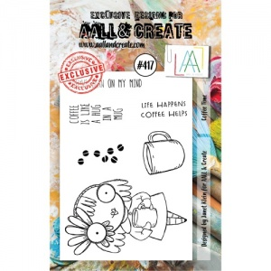 AALL and Create Stamp Set #417 - Coffee Time