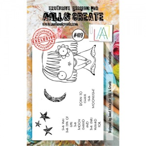 AALL and Create Stamp Set #419 - Moonlight