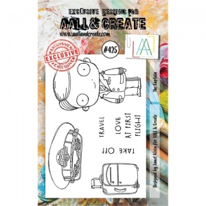 AALL and Create Stamp Set #425 - The Captain