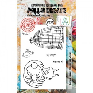 AALL and Create Stamp Set #427 - Wing It