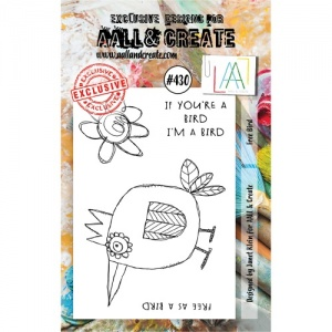 AALL and Create Stamp Set #430 - Free Bird
