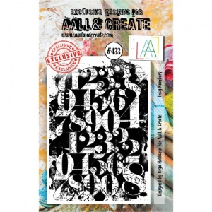 AALL and Create Stamp Set #433 - Inky Numbers