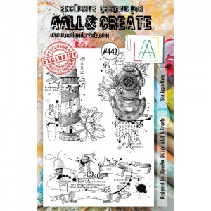 AALL and Create Stamp Set #442 - Sea Essentials