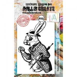 AALL and Create Stamp Set #446 - I'm Late