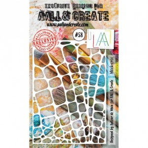 AALL and Create Stencil #58 - Mock-Croc