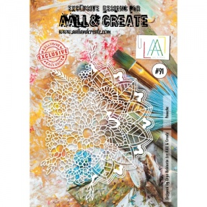 AALL and Create Stencil #91 - Panache