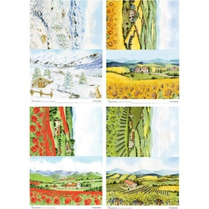 Calambour A4 Rice Papers - Scenic