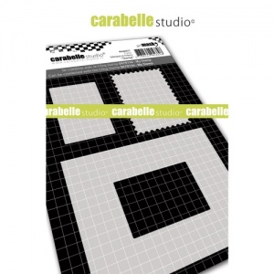 Carabelle Studio A6 Mask Set - Stamp - MA60077