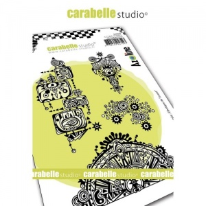 Carabelle Studio Stamp Set - Azo' Freestyle: Western Ethnic by Azoline - SA60504