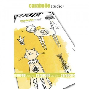Carabelle Studio Stamp Set - Here Kitty Kitty by Kate Crane - SA60521