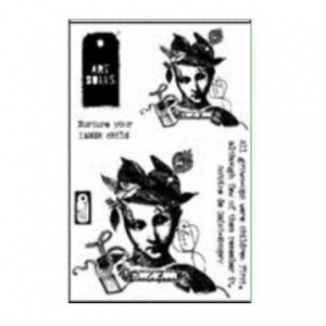Character Constructions Clear Stamp Set - Inner Child No. 8