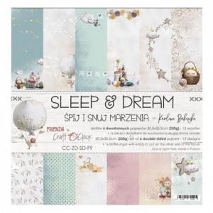Craft O'Clock 12x12 Paper Pack - Sleep and Dream