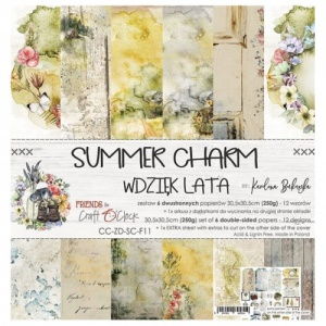 Craft O'Clock 12x12 Paper Pack - Summer Charm
