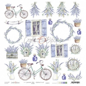 Craft O'Clock Sheet of Extras - Lavender Hills