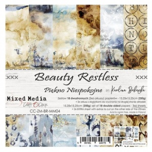 Craft O'Clock 6x6 Paper Pack - Beauty Restless