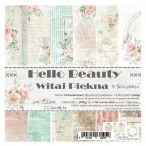 Craft O'Clock 6x6 Paper Pack - Hello Beauty