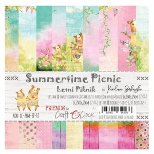 Craft O'Clock 6x6 Paper Pack - Summertime Picnic