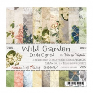 Craft O'Clock 6x6 Paper Pack - Wild Garden