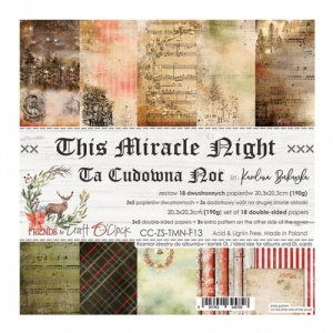 Craft O'Clock 8x8 Paper Pack - The Miracle Night