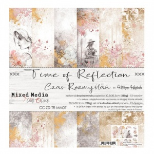 Craft O'Clock 12x12 Paper Pack - Time of Reflection
