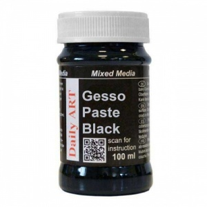 Daily Art Gesso Paste - Black