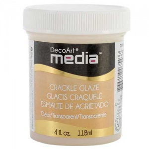 DecoArt Media Crackle Glaze