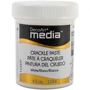 DecoArt Media Crackle Paste - White
