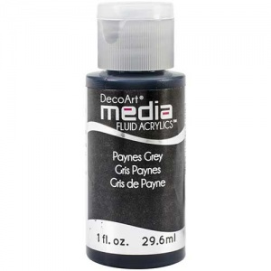 DecoArt Media Fluid Acrylic Paint - Payne's Grey