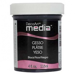 DecoArt Media Gesso - Black
