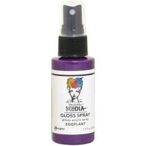 Dina Wakley Gloss Spray - Eggplant
