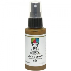 Dina Wakley Gloss Spray - Gilt