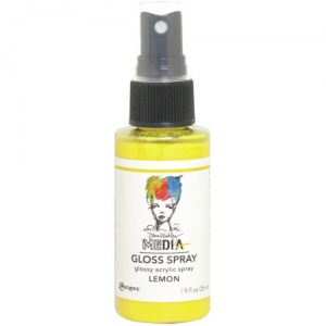 Dina Wakley Gloss Spray - Lemon