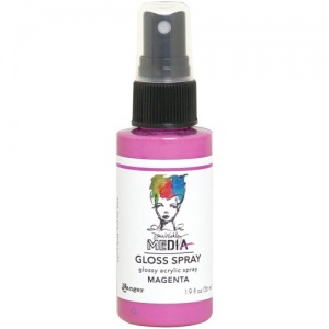 Dina Wakley Gloss Spray - Magenta