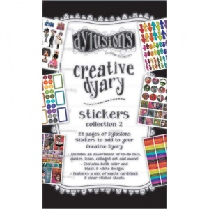 Dylusions Creative Dyary Sticker Book