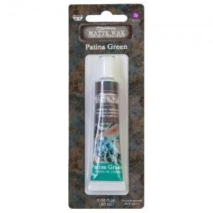 Prima Finnabair Art Alchemy Matte Wax - Patina Green