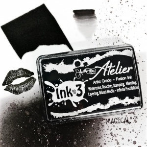 Ink on 3 Atelier Ink Pad - Paint It Black